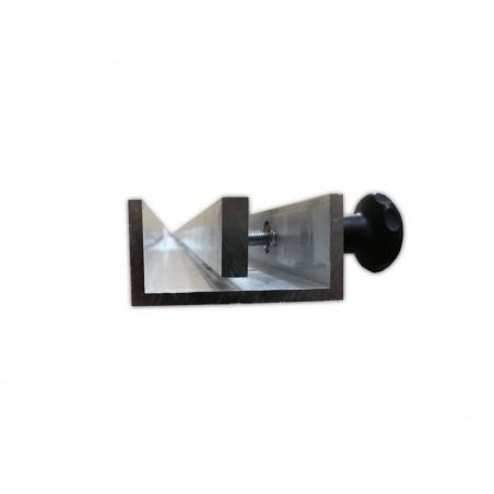 Profil aluminiowy do transportowania blatów.